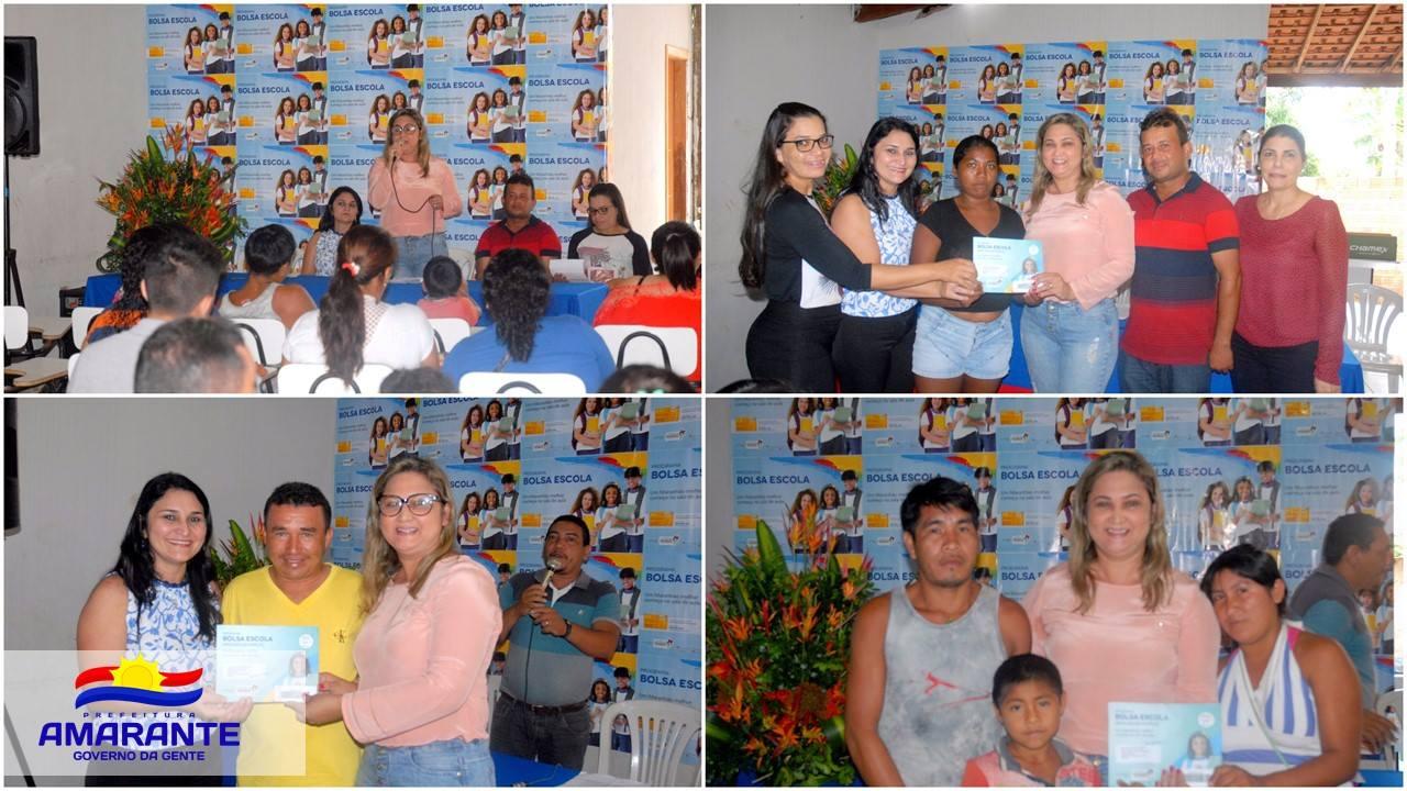 Secretaria de Assistência Social realiza entrega de cartões do Bolsa Escola