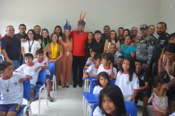 Alegria e emoção marcam entrega de Escola Digna da Aldeia Juçaral em Amarante