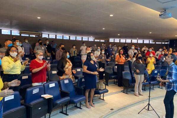 Semeduc de Amarante do Maranhão presente em Encontro Estadual de Dirigentes Municipais de Educação