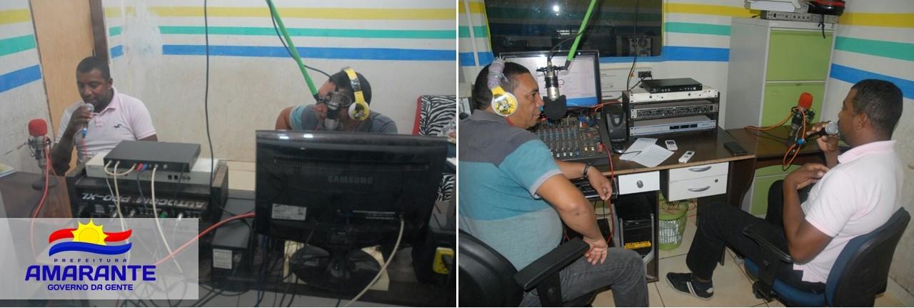 Secretário de Cultura do Município concede entrevista a Rádio Antena 10 para falar sobre carnaval 2017