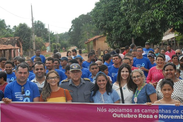Ação da Secretaria Municipal de Saúde no povoado Campo Formoso incentiva homens a cuidarem da saúde