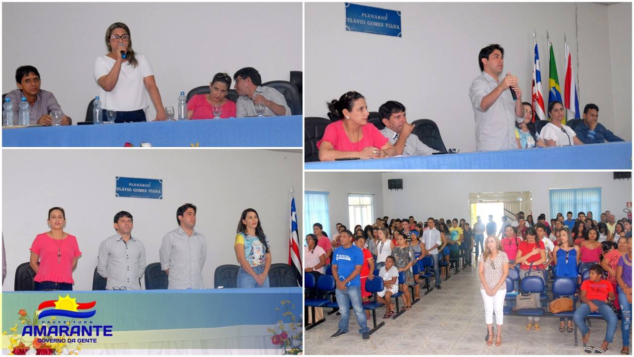 Alunos de unidade do Iema em Amarante participam de aula inaugural
