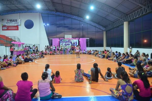 """Secretaria de Saúde encerra ações da Campanha """"outubro rosa"""" em Amarante"""