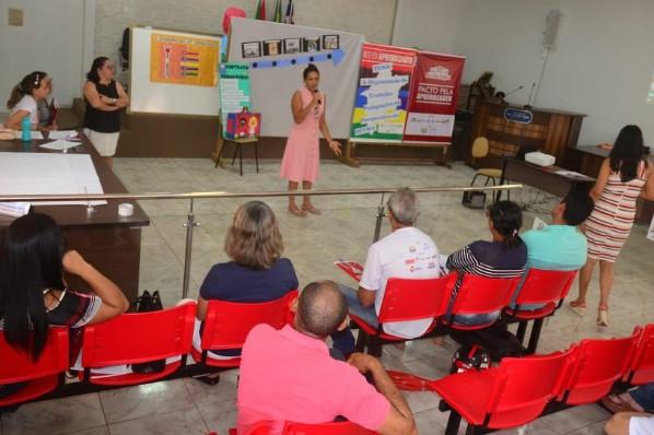Secretaria Municipal de Educação realiza II ciclo formativo do Pacto Pelo Fortalecimento da Aprendizagem em Amarante