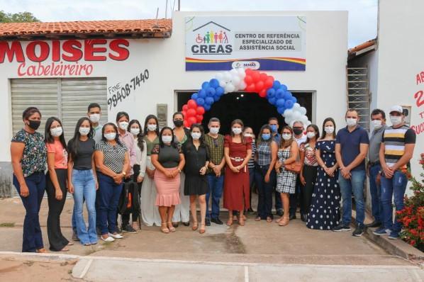 Novas instalações do CREAS é inaugurada em Amarante do Maranhão