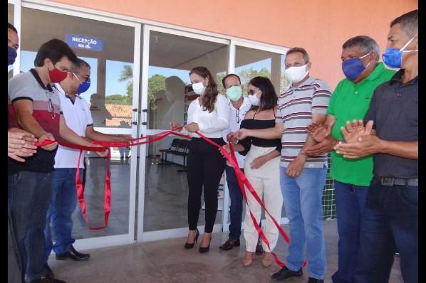 SAÚDE –  Inaugurado o centro de atendimento para enfrentamento ao Covid-19 em Amarante do Maranhão.