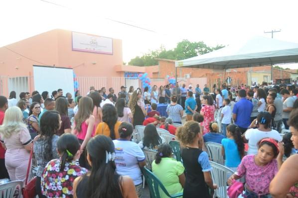 Prefeitura de Amarante inaugura nova sede do Cras I no bairro Trizidela