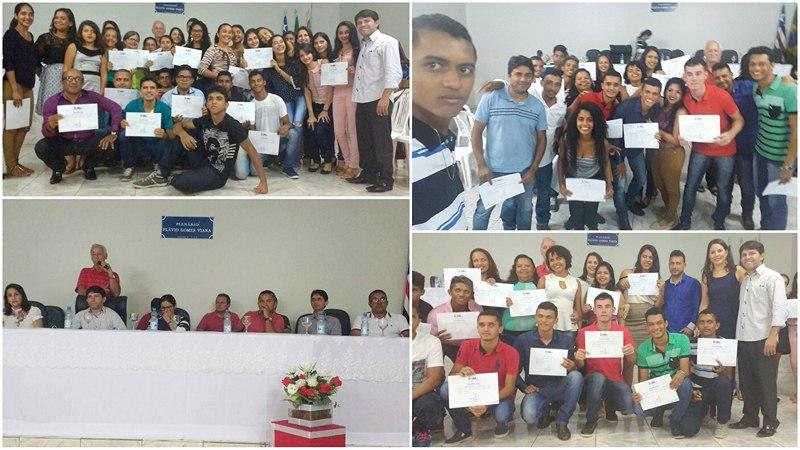 Unidade vocacional do Iema de Amarante realiza entrega de certificados